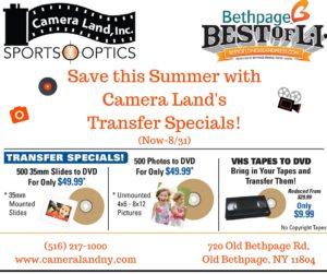 Camera Land Transfer Special