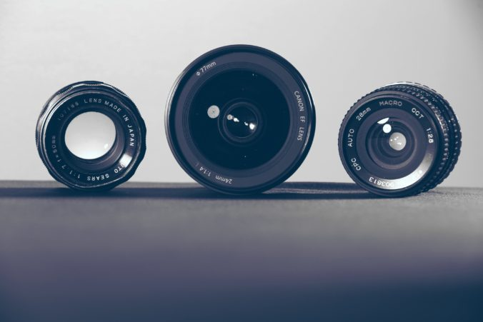 All about camera lenses